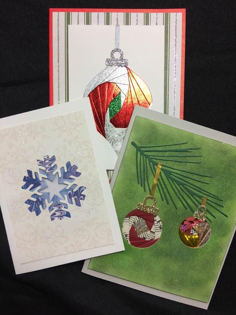 Christmas iris folding kit by Emily Mallory