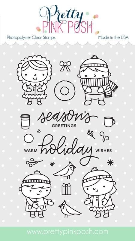 Christmas Friends Stamp Set