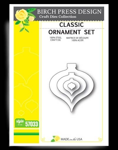 Birch Press Classic Ornament Set 57033