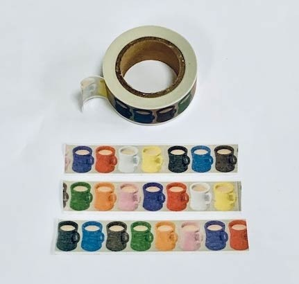 Coffee Cup Washi Tape