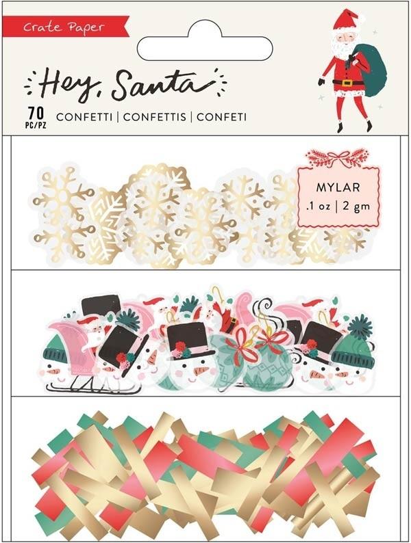 Hey Santa Confetti