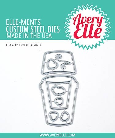 Avery Elle Die: Cool Beans Elle-ments