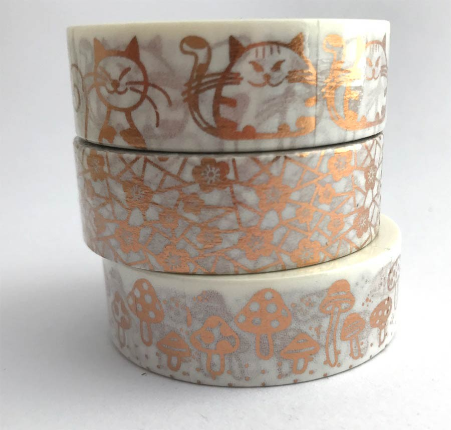 Copper Washi Tapes