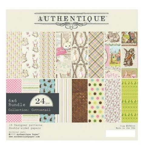 Authentique Cottontail 6x6 Paper Pack