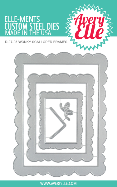 Avery Elle Wonky Scalloped Frames Elle-ments