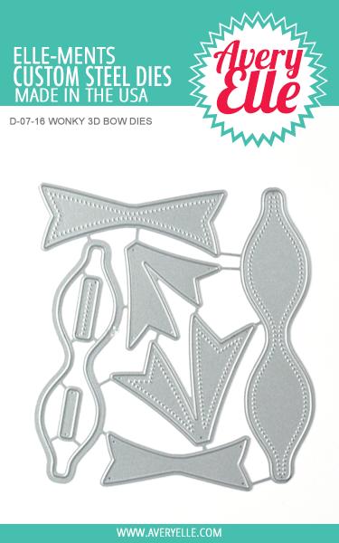 Avery Elle Wonky 3D Bow Elle-ments
