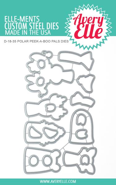 Avery Elle Polar Peek-A-Boo Pals Elle-ments