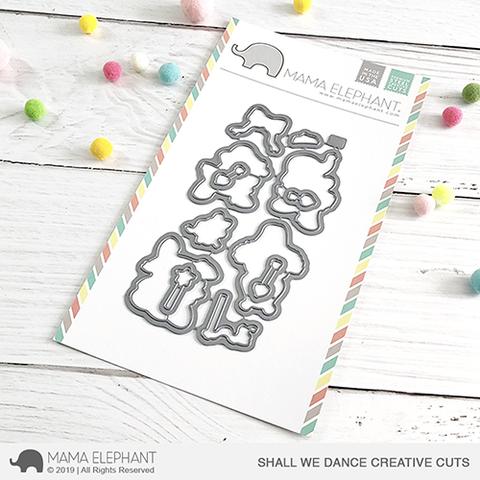 SALE - Mama Elephant Shall We Dance Creative Cuts