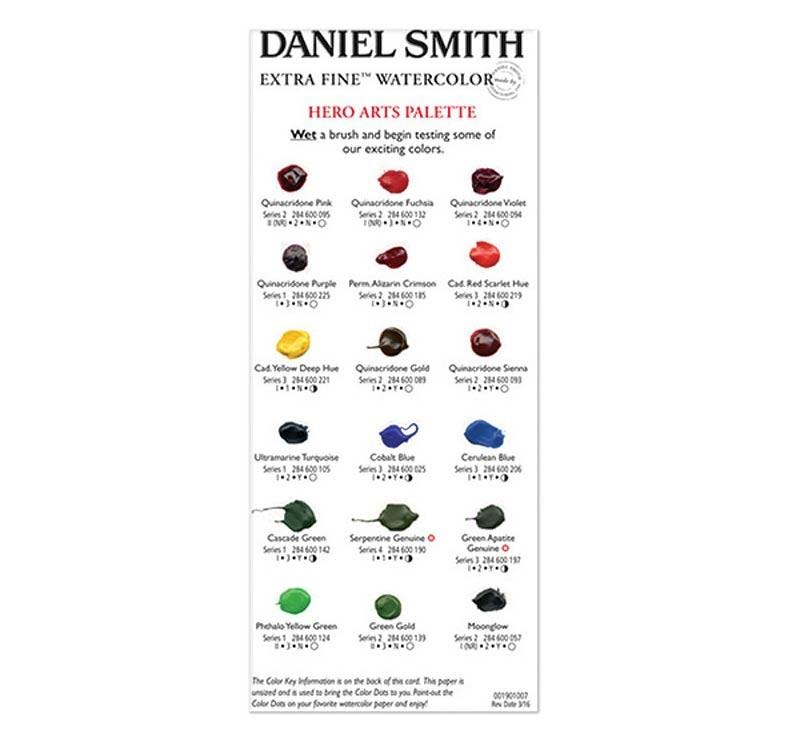 Daniel Smith Watercolor Dot Palette