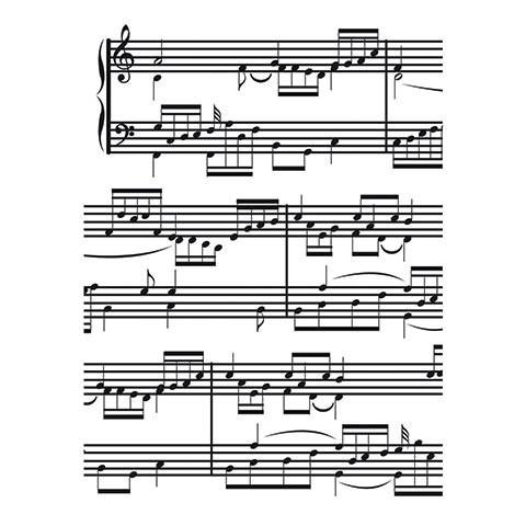 Music Embossing Folder