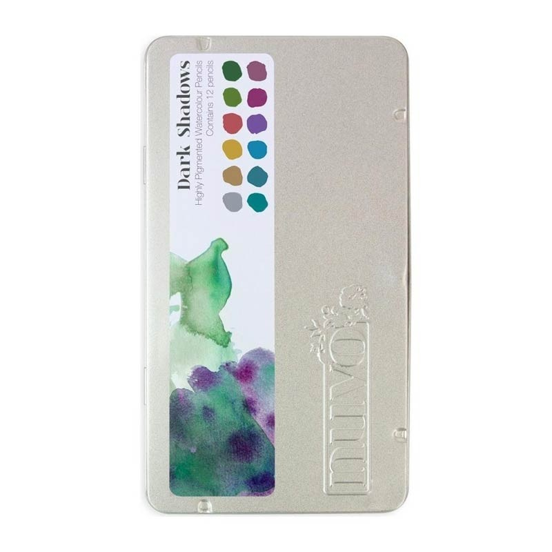 Nuvo Watercolor Pencils 12/Pkg