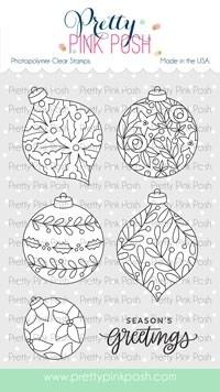 Pretty Pink Posh Decorative Ornaments stamp set