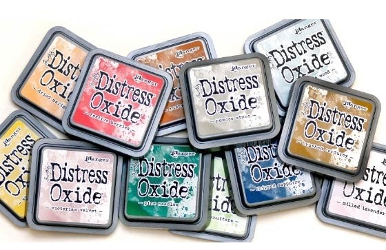 New Distress Oxide Colors - PREORDER