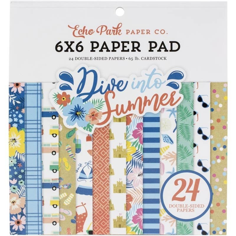 Echo Park Dive into Summer Paper Pad