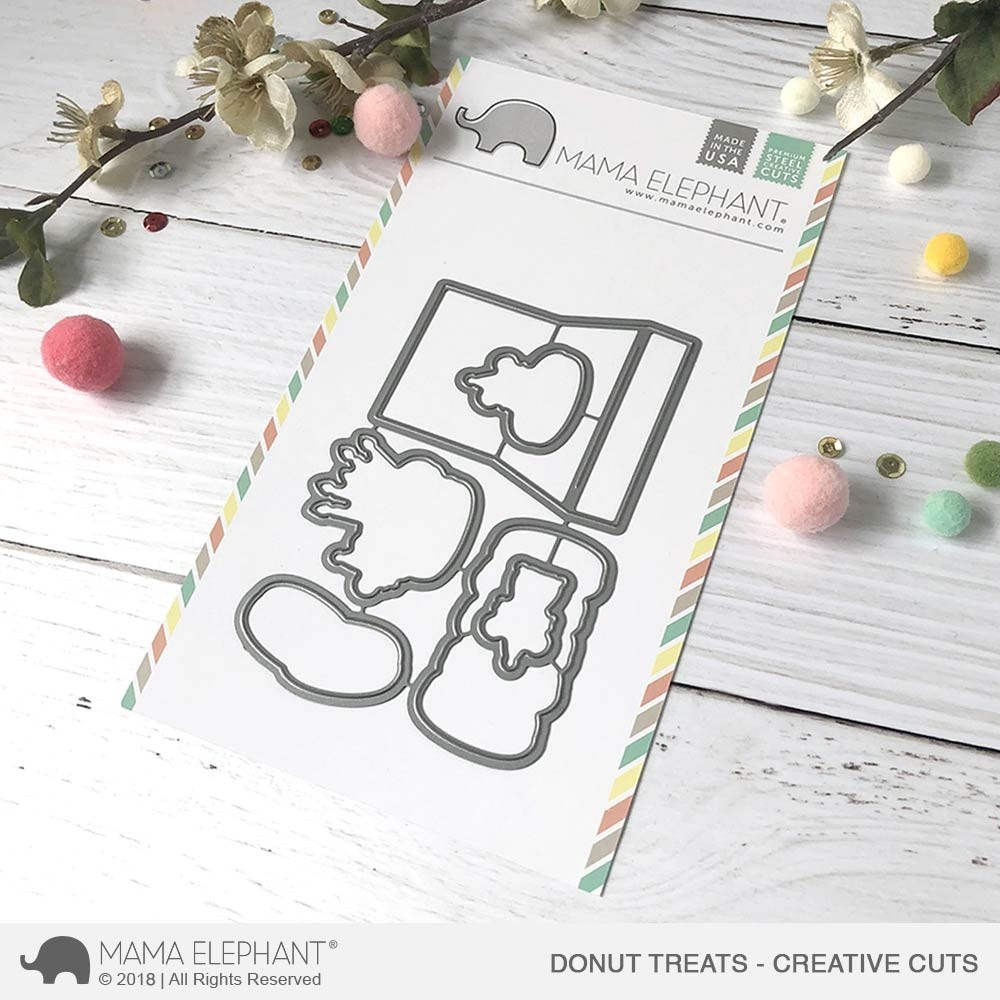 Mama Elephant Donut Treats - Creative Cuts