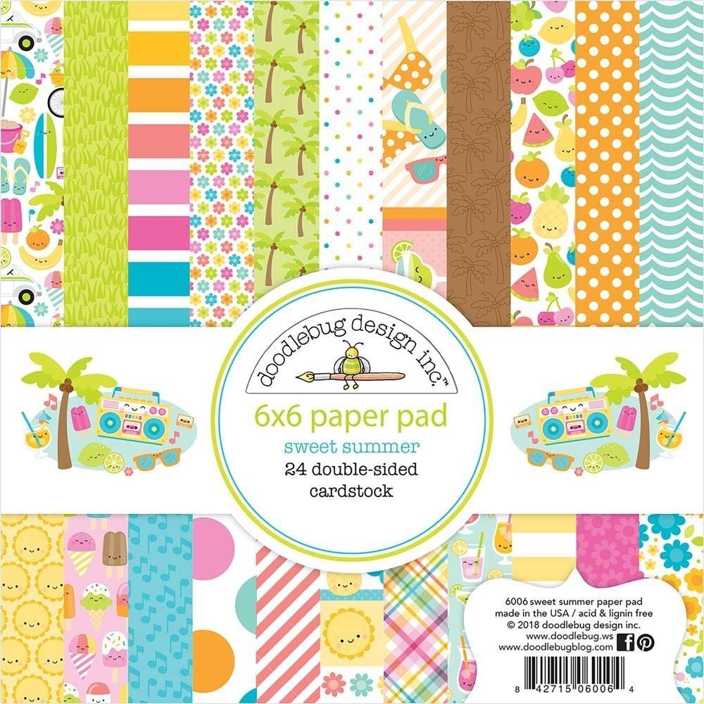 Doodlebug Sweet Summer 6x6 Paper Pad