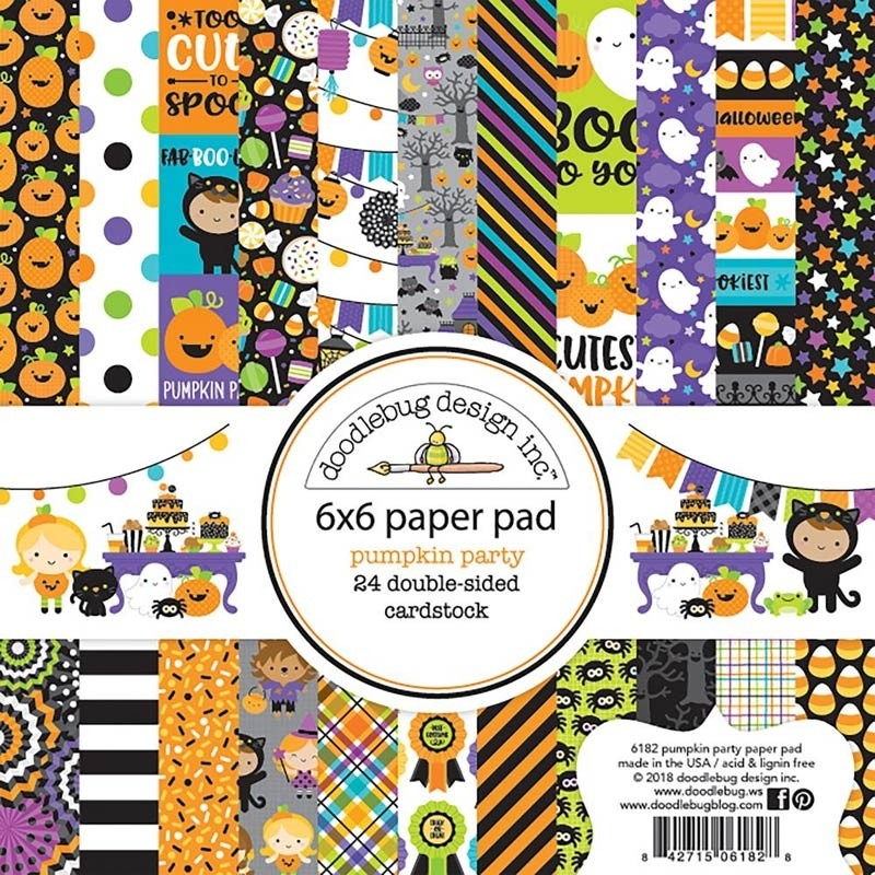 Doodlebug Pumpkin Party Paper Pack