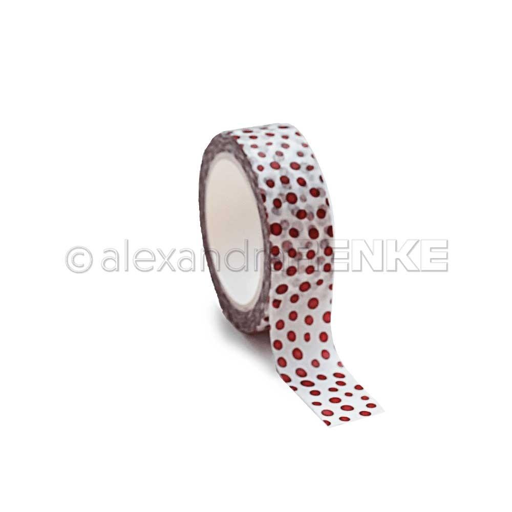 Renke Red Dot Washi Tape