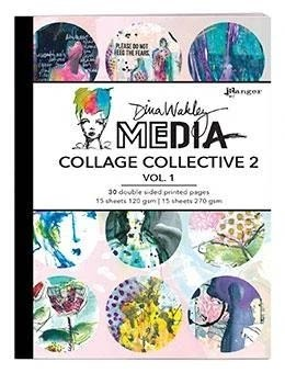 Dina Wakley Media Collage Collective 2