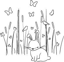 Max Bunny in the Meadow (E2039)