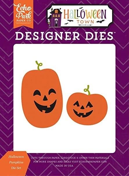 SALE - Echo Park Halloween Pumpkins Die Set