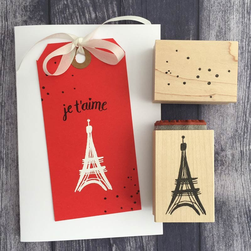 5625d - sketched eiffel tower with je t'aime