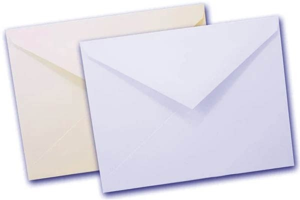 Solar White and Natural white Envelopes