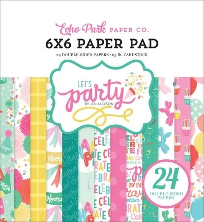 Let's Party Paper Pad by Echo Park