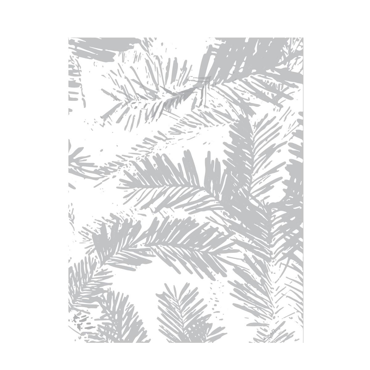 Evergreen Embossing Folder