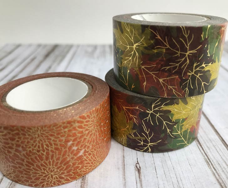 Little B Fall Washi Tape