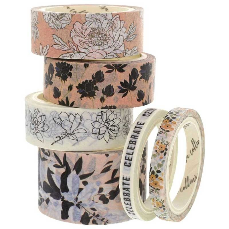 Teresa Collins Faves 3 Washi Tape Set