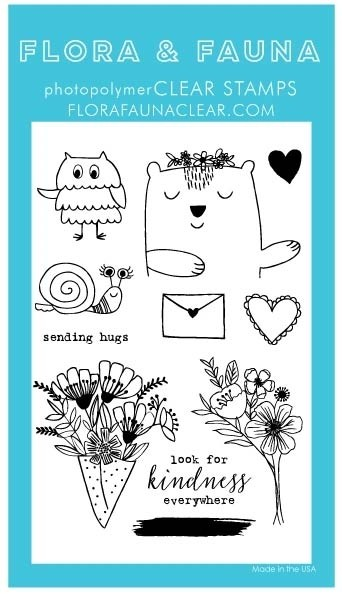 Flora and Fauna Animal Sending Love Set 20288