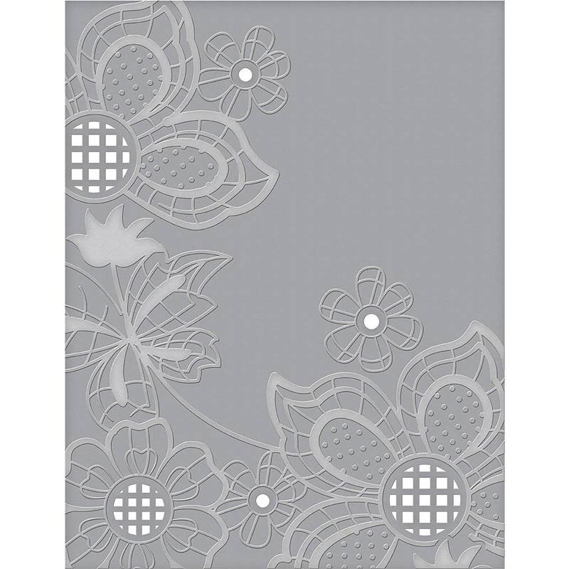 Spellbinder Cut and Emboss Floret Cluster
