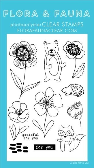 Flora and Fauna  Flower Animals Set 20328
