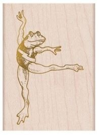 Hero Arts DANCING FROG F6349