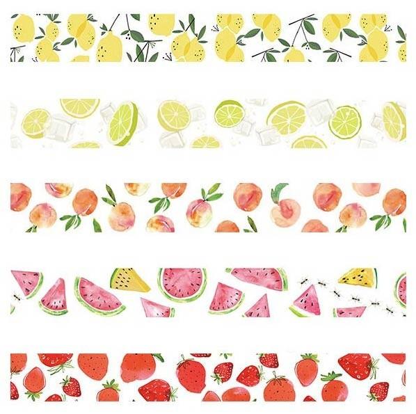 Summer Fruit Washi Tape