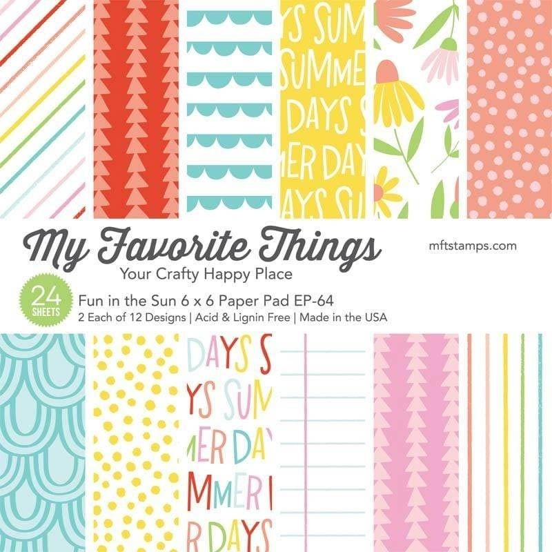 My Favorite Things - Fun in the Sun 6x6 Paper Pack