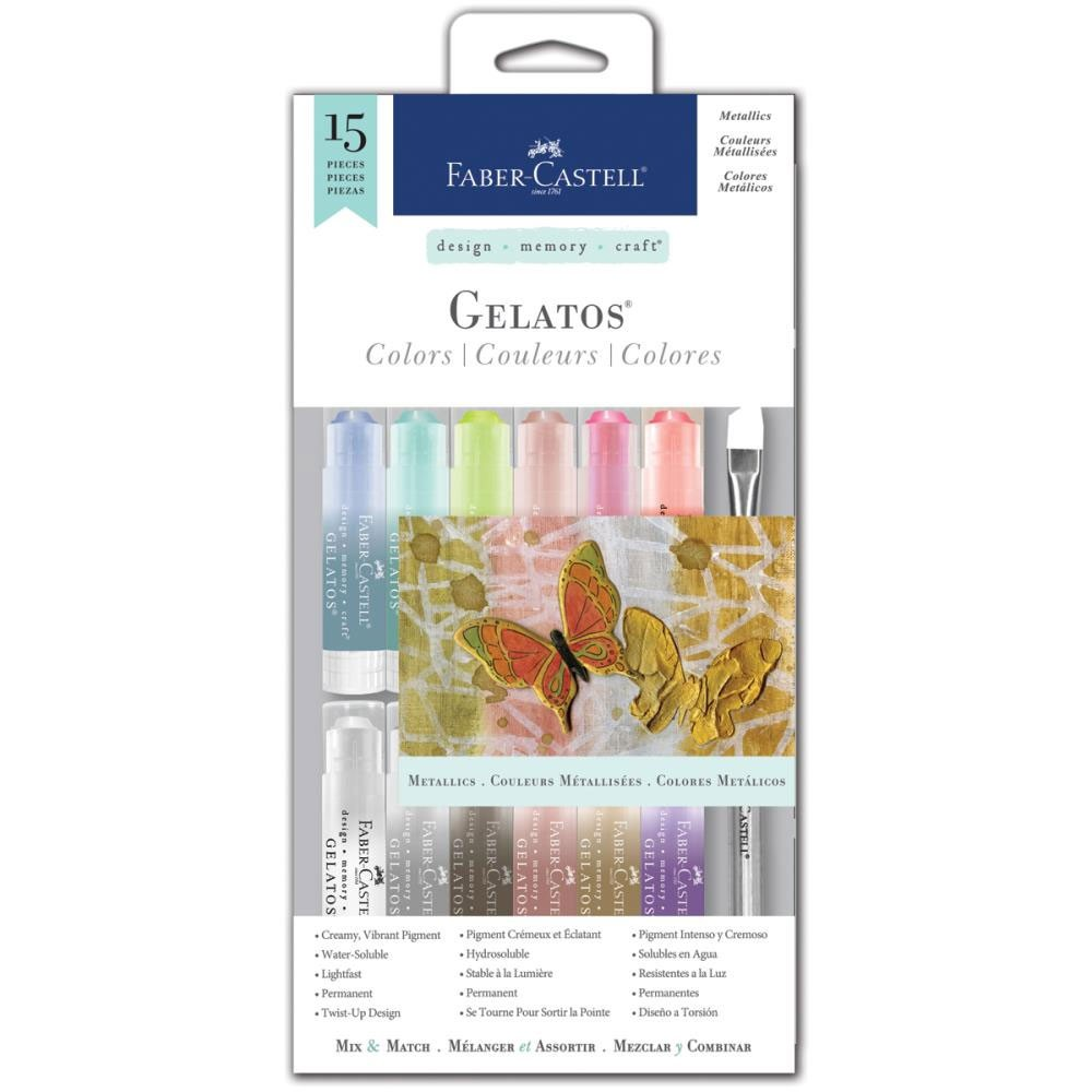 Gelatos color kit - metallic