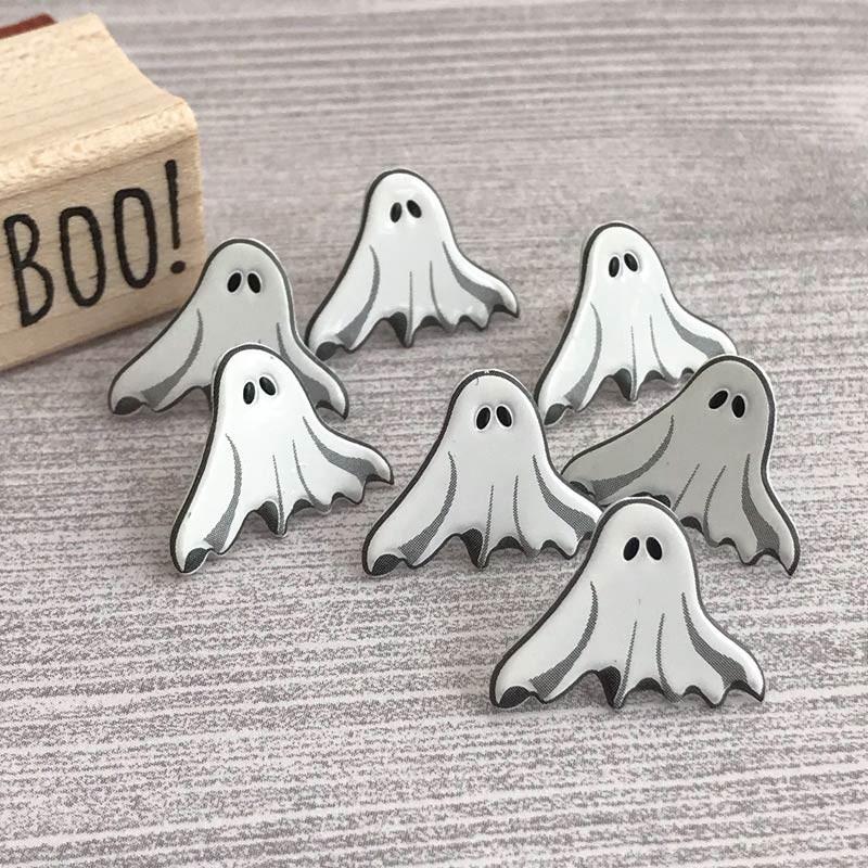 Spooky ghost brads