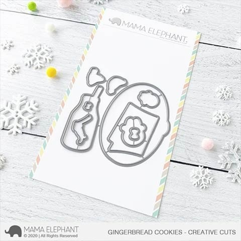 Mama Elephant Gingerbread Cookies Cuts