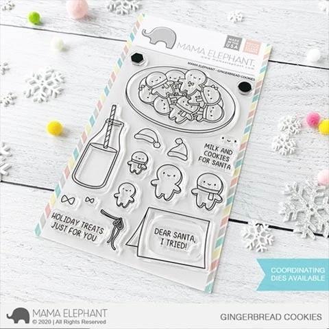 Mama Elephant Gingerbread Cookies