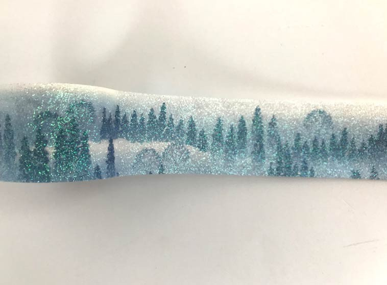 Glittered Scene Washi Tape