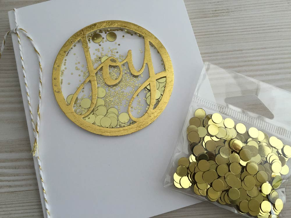 Gold Circle Confetti