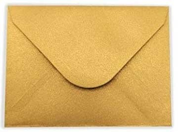 Gold Mini Envelopes