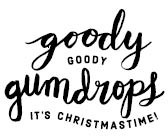 5709d - goody goody gumdrops rubber stamp