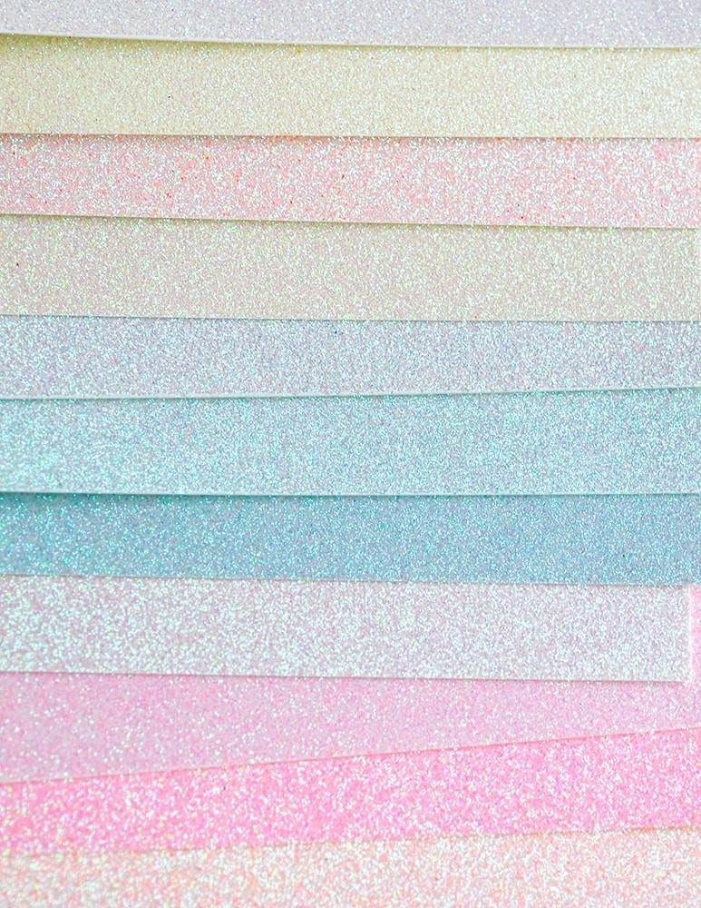 Delicate Pastel Glitter Pad