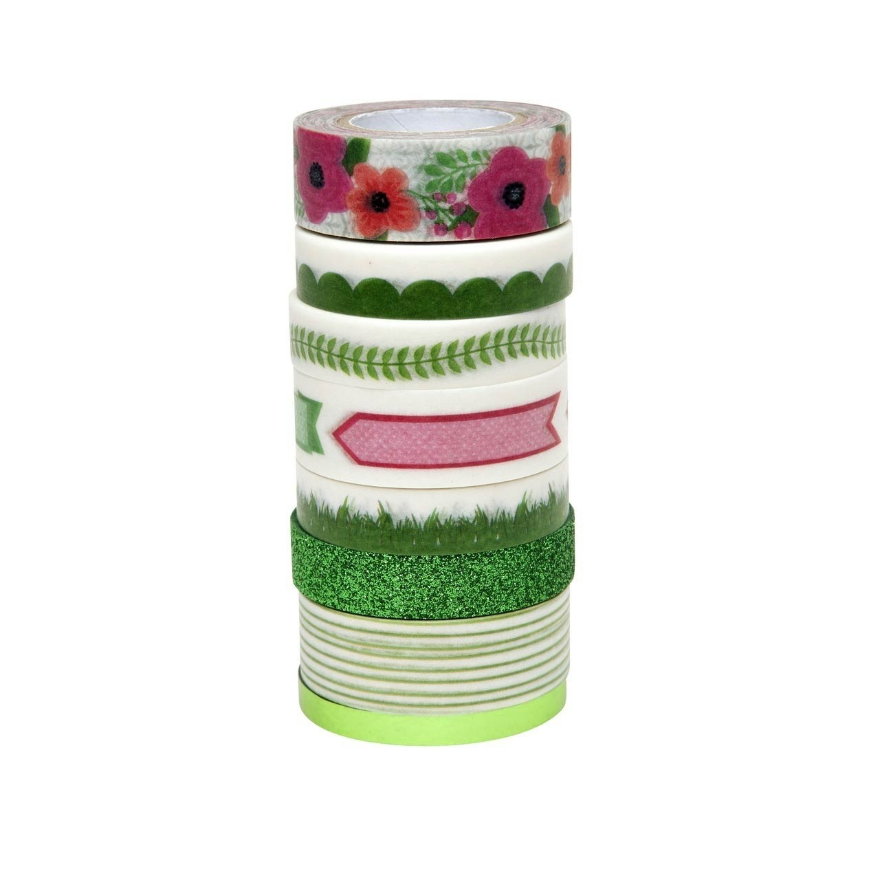 Spring Green Washi Tape