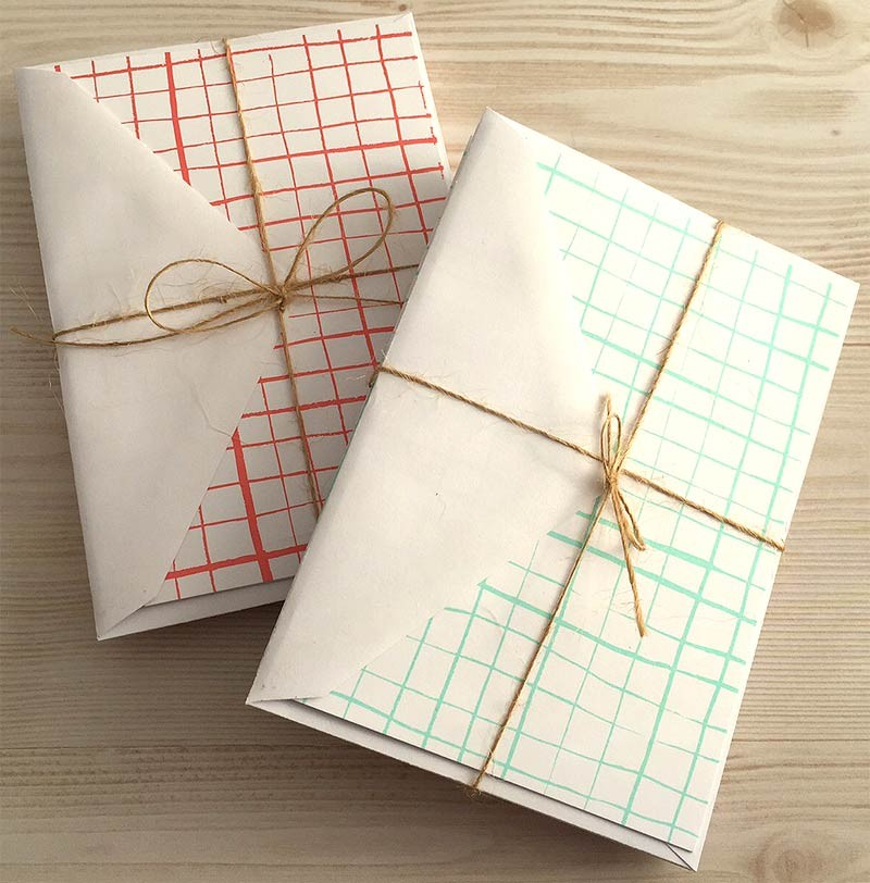 Grid Notecards