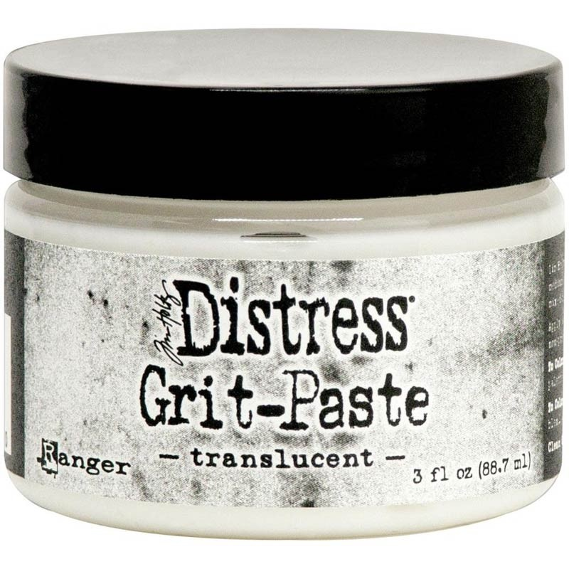 Distress Grit-Paste - translucent