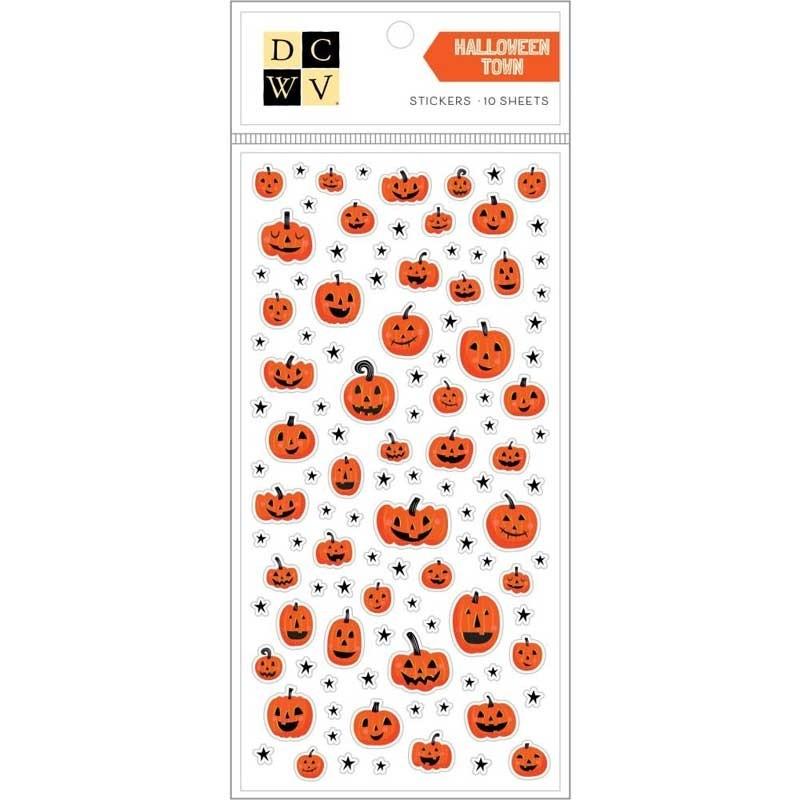 Halloween Town Stickers